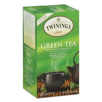 Tea Bags, Green, 25/BX