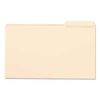 Smead® File Folder, 1/3 Cut Third Position, Reinforced Top Tab, Legal, Manila, 100/Box