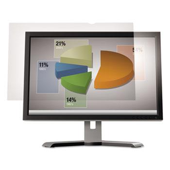 """3M™ Antiglare Flatscreen Frameless Monitor Filters for 19"""" Standard LCD Monitor"""