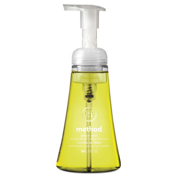 Method® Foaming Hand Wash, Lemon Mint, 10 oz. Pump Bottle