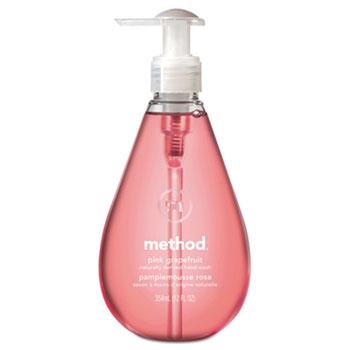 Gel Hand Wash, Pink Grapefruit Liquid, 12 oz. Bottle