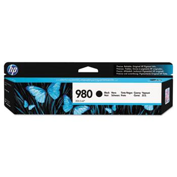 HP 980 Ink Cartridge, Black (D8J10A)