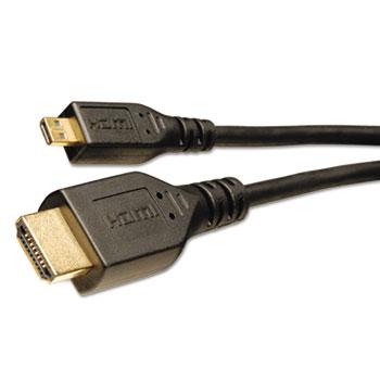 Tripp Lite HDMI Cables, 3 ft, Black, HDMI 1.4 Male; HDMI 1.4 Male
