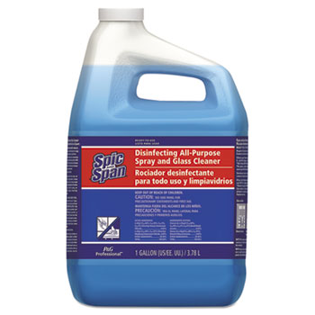 Disinfecting All-Purpose Spray & Glass Cleaner, 1 gal. Bottle, Fresh Scent, 3/CT
