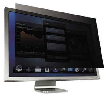 "3M™ Blackout Frameless Privacy Filter for 23.8"" Widescreen Notebook, 16:9"