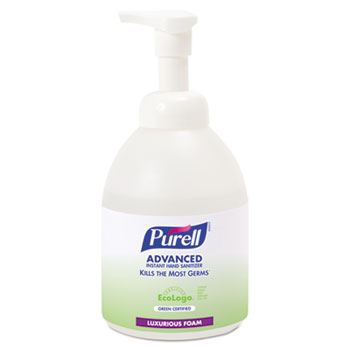 PURELL® Healthcare Advanced Hand Sanitizer Gentle & Free Foam, 535 ml Bottle, 4/CT