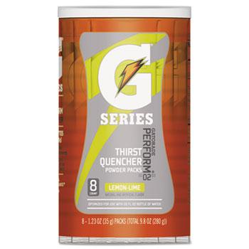Gatorade® Thirst Quencher Powder Drink Mix, Lemon-Lime, 1.34oz Stick, 64/CT