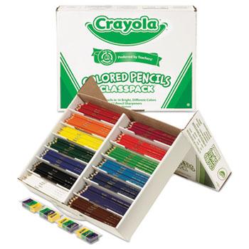 Colored Pencils Classpack, 14 Colors, 462/BX