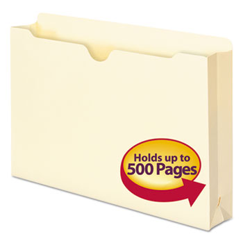 Smead® Manila File Jackets, Legal, 11 Point, Manila, 50/Box