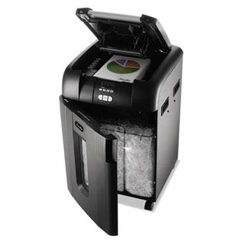 Swingline® Stack-and-Shred 600XL Auto Feed Heavy Duty Shredder Plus Pack, Super Cross-Cut