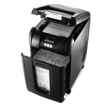 Swingline® Stack-and-Shred 300XL Auto Feed Heavy Duty Shredder Plus Pack, Super Cross-Cut
