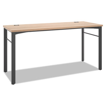 Manage Series Desk Table, 60w x 23 1/2d x 29 1/2h, Wheat