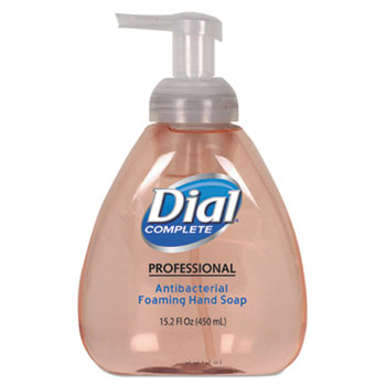 Dial Complete® Antibacterial Foaming Hand Soap, Original Scent, 15.2 oz., 4/Carton