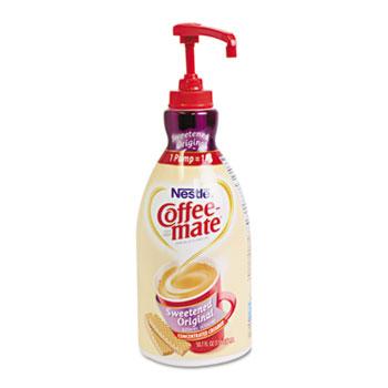 Sweetened Original Liquid Coffee Creamer, 1.5 L Pump Bottles, 2/CS
