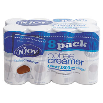 Coffee Creamer, 16 oz. Canisters, 8/CT