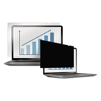 "Fellowes® PrivaScreen Blackout Privacy Filter, 15.6"" Widescreen LCD, 16:9"
