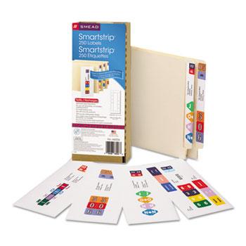 SmartStrip Refill Label Kit, 250 Label Forms/Pack, Inkjet