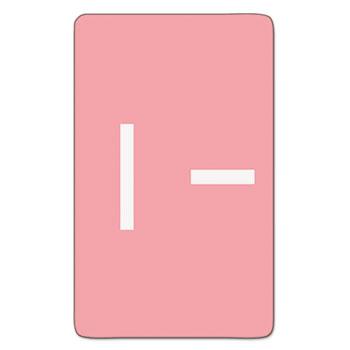 Smead® Alpha-Z Color-Coded Second Letter Labels, Letter I, Pink, 100/Pack