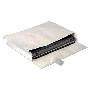 Survivor® Tyvek Expansion Mailer, 10 x 13 x 2, White, 25/Box