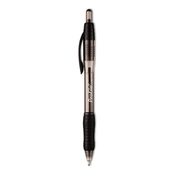 Profile Ballpoint Retractable Pen, Black Ink, Bold, 36/Box