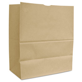 General 1/6 BBL 65# Paper Bag, Natural Kraft Grocery Sack, Brown, 500-Bundle