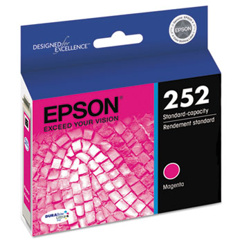 Epson® T252320 (252) DURABrite Ultra Ink, Magenta