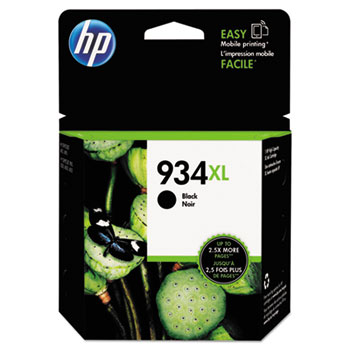934XL Ink Cartridge, Black (C2P23AN)