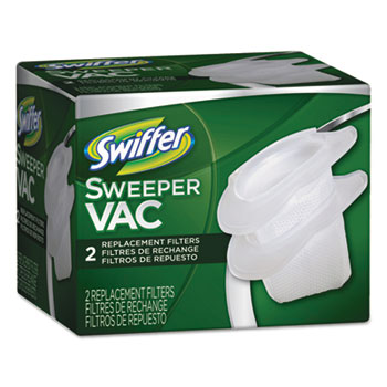 Swiffer® Sweeper Vac Replacement Filter, OEM, 12/Pack