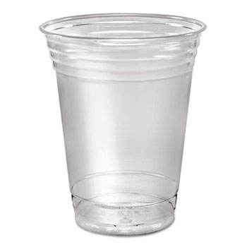 Ultra Clear Cups, Squat, 16-18 oz, PET, 50/PK