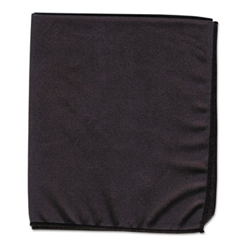 Creativity Street® Dry Erase Cloth, Black, 12 x 14