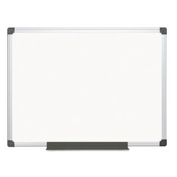 Value Melamine Dry Erase Board, 36 x 48, White, Aluminum Frame