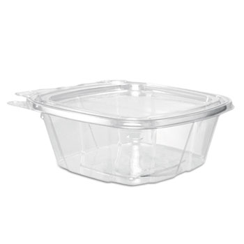 Dart® ClearPac Container Lid Combo-Packs, 4.9 x 2 x 5.5, 12 oz, Clear, 200/Carton