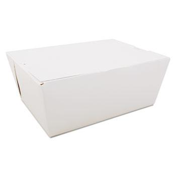 SCT® ChampPak Carryout Boxes, White, 7 3/4 x 5 1/2 x 3 1/2, 160/Carton