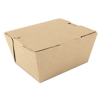 SCT® ChampPak Carryout Boxes, Brown, 4 3/8 x 3 1/2 x 2 1/2, 450/Carton