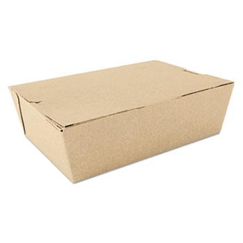 ChampPak Carryout Boxes, Brown, 7 3/4 x 5 1/2 x 2 1/2, 200/Carton