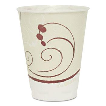 SOLO® Cup Company Symphony Design Trophy Foam Hot/Cold Drink Cups, 12oz, 300/Carton