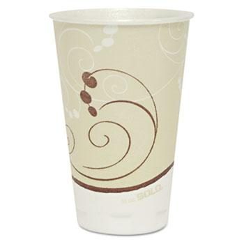 SOLO® Cup Company Symphony Trophy Plus Dual Temperature Cups, 16 oz, 750/Carton