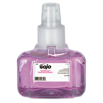 GOJO® Antibacterial Foam Hand Wash, 700 mL Refill for LTX-7™, Plum Scent, 3/CT