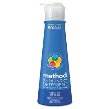 Method® Laundry Detergent, 20 oz. Pump Bottle, Fresh Air Scent