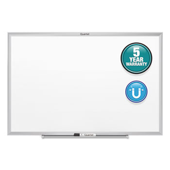 Quartet® Classic Magnetic Whiteboard, 24 x 18, Silver Aluminum Frame