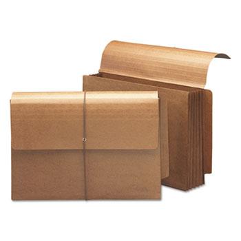 """Smead® 5 1/4"""" Exp End Tab Wallets, Straight Tab, Legal, Redrope, 10/Box"""