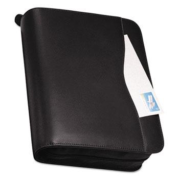 Day-Timer® Verona Leather Starter Set, 8 1/2 x 11, Black Cover