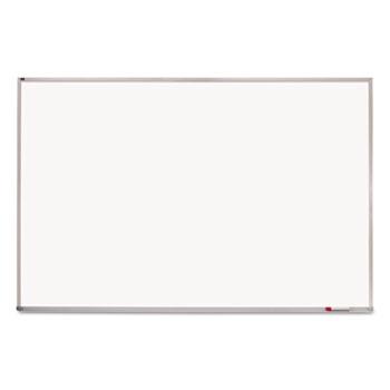 Porcelain Magnetic Whiteboard, 96 x 48, Aluminum Frame