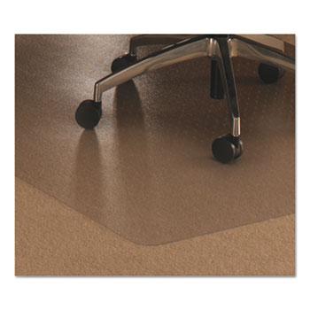 Floortex® Cleartex Ultimat Polycarbonate Chair Mat for Low/Medium Pile Carpet, 48 x 60