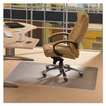 Cleartex Advantagemat Phthalate Free PVC Chair Mat for Low Pile Carpet, 60 x 48
