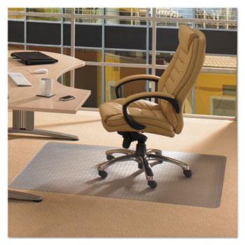 Floortex® Cleartex Advantagemat Phthalate Free PVC Chair Mat for Low Pile Carpet, 48 x 36