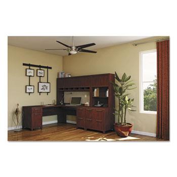 Bush Business Furniture Enterprise Collection 72W x 72D L-Desk, Harvest Cherry (Box 2 of 2)