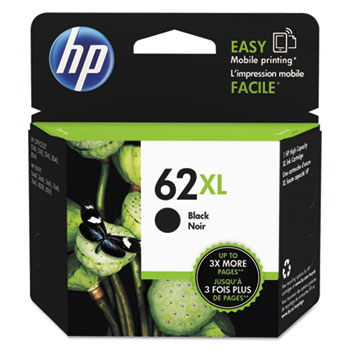 62XL Ink Cartridge, Black (C2P05AN)