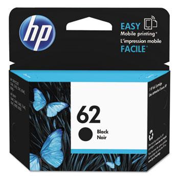 62 Ink Cartridge, Black (C2P04AN)