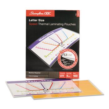 Fusion EZUse™ Premium Laminating Pouches, 5 mil, 11 1/2 x 9, 100/Box
